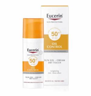 Eucerin Sun Oil Dry Touch Krema Gel Spf 50, 50ml