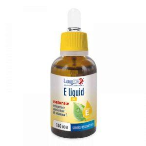 Longlife, Vitamin E, 30ml Kapi, 140 Doza, Antioksidans