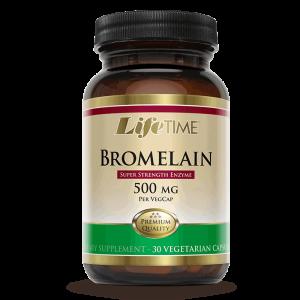 Lifetime Bromelain, 30 Kapsula, Enzim Za Probavu, Nadutost, Kod Ozljeda