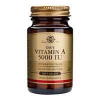 Solgar, Vitamin A, 5000 I.j., 100 Tableta, Za Normalnu Kožu I Sluznicu