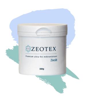 Zeotex, Zeolit, 350g, Ultrafini Mikronizirani Zeolit, Dermatologija, Stomatologija, Tretiranje Povrća I Voća