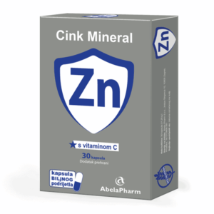Abelapharm, Cink + Vitamin C, 30 Kapsula