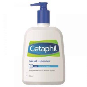 Cetaphil, Facial Cleanser, 236ml, Blaga Pjenušava Pjena Za Čišćenje Normalne I Masne Kože