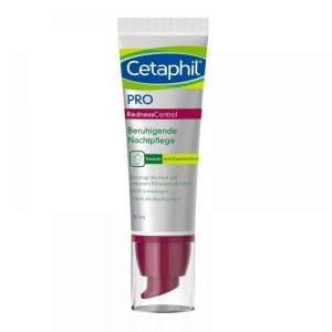 Cetaphil, Pro Redness Control, 50ml, Noćna Njega Osjetljive Kože Sklone Crvenilu
