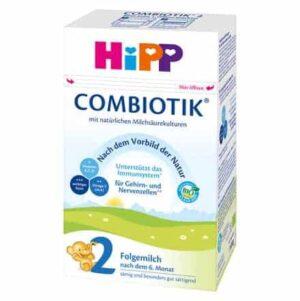 Hipp, 2 Bio Combiotik, 600g, Prijelazna Mliječna Hrana S Omega Masnim Kiselinama I Vitaminima