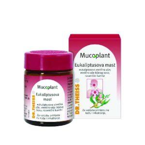 Dr. Theiss, Mucoplant Eukaliptusova Mast, 50 G, Kombinacije Eteričnih Ulja Za Bolesti Dišnog Sustava