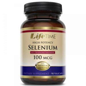 Lifetime, Selenium, 100mcg, 90 Vege Kapsula