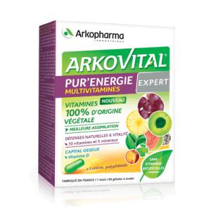 Arkopharma, Arkovital, Pure Energy Expert, 60 Kapsula, Vitaminska Formulacija Za 50+ I Starije