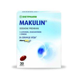Dietpharm Makulin, 30 Kapsula, Za Održavanje Zdravlja Očiju