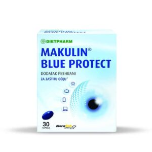 Dietpharm Makulin, Blue Protect, 30 Kapsula, Zaštita Očiju Od Umjetne Rasvjete I Digitalnih Ekrana 1