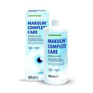 Dietpharm Makulin, Complete Care, 380ml, Otopina Za Leće + Kutijica Za Leće