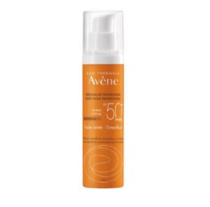 Avene, Sun, Spf50+, Tonirani Fluid, 50ml, Za Normalnu I Mješovitu Kožu, Ujednačen Izgled Tena