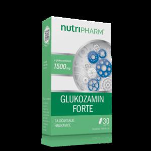 Nutripharm, Glukozamin Forte, 1500mg, 30 Tableta, Za Očuvanje Hrskavice, Sportaši I Stariji