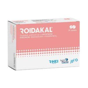 Roidakal, 30 Tableta, Održavanje Trudnoće, α Lipoična Kiselina, Magnezij I Vitamin B