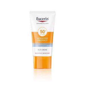 Eucerin, Sensitive Protect, Krema Za Zaštitu Kože Lica Od Sunca Spf 50+, 50ml