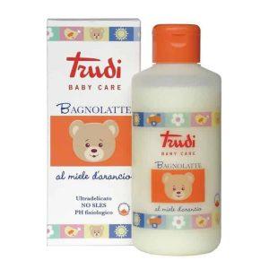 Trudi, Mliječna Kupka S Medom Naranče, Za Čišćenje I Hidratizaciju Nježne Dječje Kože, 250ml